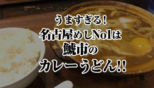 【名古屋めし】うますぎる!名古屋めしNo1は鯱市のカレーうどん!【栄・錦・伏見・大須】