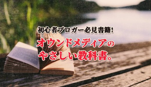 【初心者ブロガー必見!】オウンドメディアのやさしい教科書。がサイト運営/ブログ運営にものすごく役に立つよ!【書籍紹介】